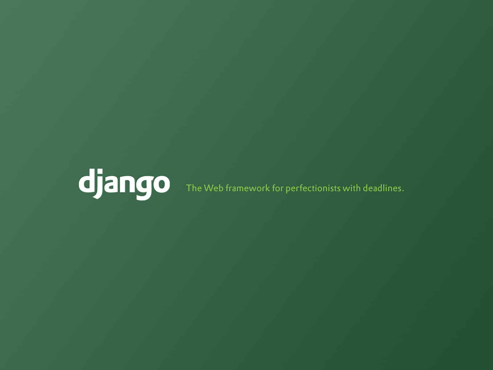 Django tagline